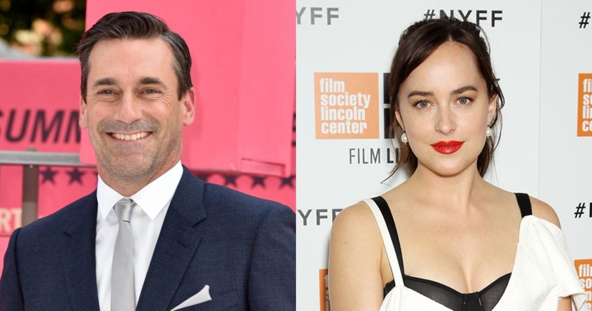 ¿Serán Dakota Johnson y Jon Hamm la nueva pareja de moda en Hollywood?