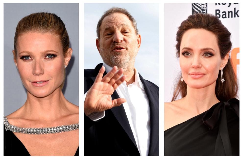Gwyneth Paltrow y Angelina Jolie también acusan productor Weinstein de acoso sexual